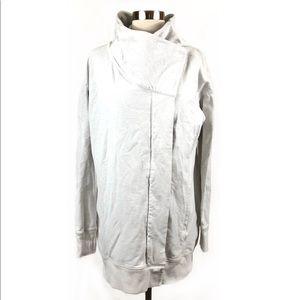 Lululemon 8 Wrap Up Jacket Heathered Angel White